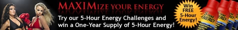 5-Hour Energy - Win a Year's Supply!