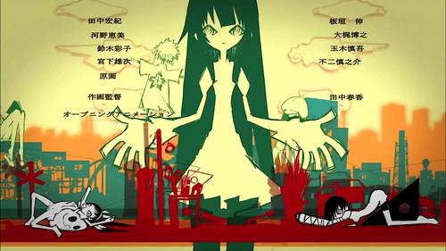 090801(1) - TVA『化物語』小學五年級女主角《八九寺真宵》OP動畫的原畫師負責橋段一覽!