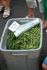 green beans (weremonkey1) Tags: farmersmarket morningside atlantaga