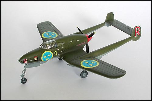 Heller 1/72 Saab J21