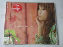 全新 原裝絕版 2004年 11月3日 安倍麻美 Abe Asami Everyday 初回限定特典 CD 原價 1000yen  初版