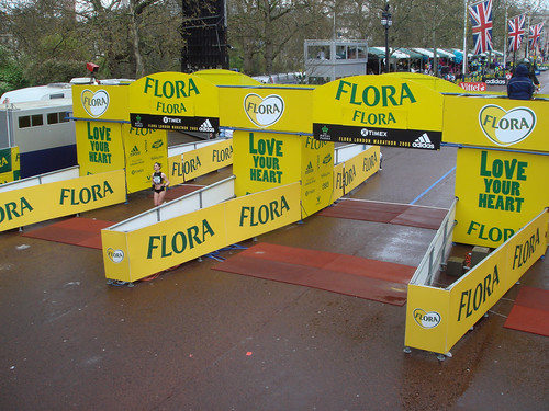 Flora London Marathon - Outdoor - Hoardings - Signage