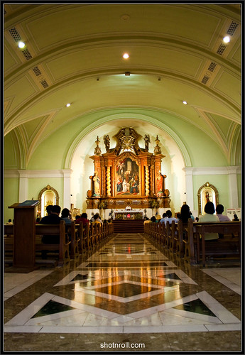 Inside the Archdiocesan Shrine of Jesus