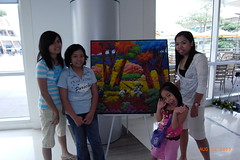 colorful art (HunnieBunch) Tags: family food kids children cousins shops commonwealth artworks technopark ayalatechnohub techstores