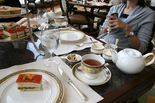 Afternoon Tea, my plate & tea