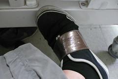 내 발, 푸마 스니커즈
