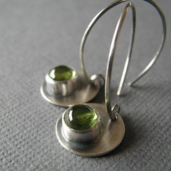 Kiwi Juice earrings