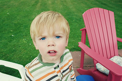 Aidan (PepOmint) Tags: family 2 baby cute toddler very blueeyes aidan adorable nephew blonde but maniac stinker terribletwos