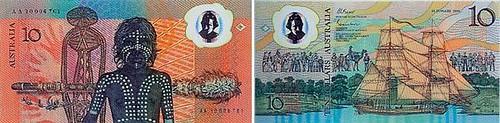 1988 Aussie 10 dollar
