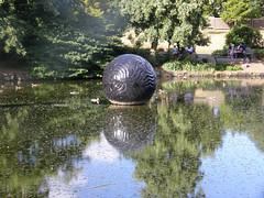 2008-01-27-Stoneleigh-2007-20-09-Pearliculture (russellstreet) Tags: newzealand sculpture auckland nzl manukau aucklandbotanicalgardens sculpturesinthegarden2007 stoneleighsculpturesinthegarden2007 johnioane pearliculture