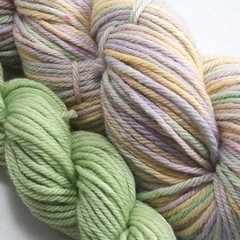 King Cake on Gaia Organic Merino  *Free Trim & discounted*