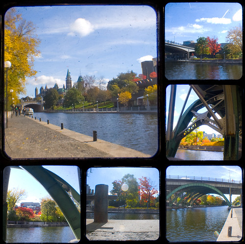 Rideau Canal collage