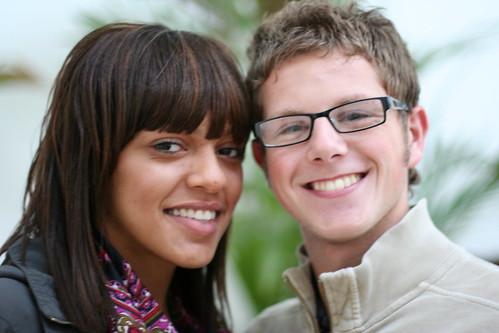 Nicole White and Rourke Holmes of Erdington Constituency Childrens Forum