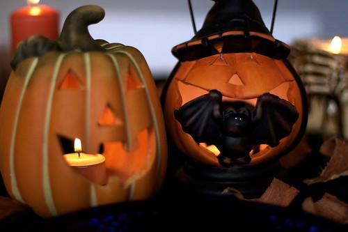 Halloweenfest på halloween