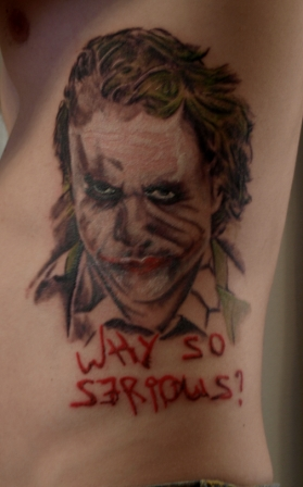 Heath Ledger Joker Tattoo Joker