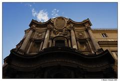 Facciata di San Carlo alle Quattro Fontane (Mauro Orlando) Tags: italy roma tokina1224 lazio sancarloallequattrofontane sancarlino fototourbarocco tokina122421
