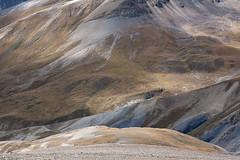 Our horse team ascending one of the passes to Shey Gompa, Dolpa (The Great Himalaya Trail) Tags: nepal trekking trek walking landscape himalaya dolpo dolpa phoksundolake upperdolpo dolpotrek upperdolpa greathimalayatrail thegreathimalayantrail wwwthegreathimalayatrailorg