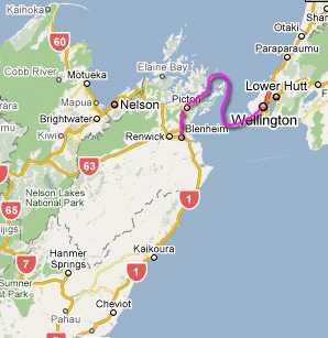 trip from picton to blenheim