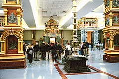 Tour to Richmond Hill Ganesha Temple and Cham Shan Temple, 23 November 2002