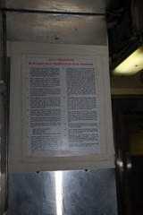 USS Albacore AGSS-569: Sign by kitchen: SAFETY PRECAUTIONS: TO BE OBSERVED IN PREVENTION OF FOOD POISONING (Chris Devers) Tags: sign us ship navy newhampshire vessel nh submarine research maritime portsmouth tuna usnavy portsmouthnh 2009 usn uss warship coldwar albacore portsmouthnavalshipyard auxiliary nationalregisterofhistoricplaces ussalbacore 569 cameranikond50 exif:exposure_bias=0ev exif:exposure=0017sec160 exif:aperture=f45 agss lens18200vr agss569 exif:focal_length=36mm camera:make=nikoncorporation exif:flash=autofiredreturndetected praenuntiusfuturi forerunnerofthefuture n89001077 nrhp89001077 camera:model=nikond50 meta:exif=1257920435 exif:orientation=horizontalnormal exif:lens=18200mmf3556 exif:filename=dscjpg exif:vari_program=auto exif:shutter_count=37855 meta:exif=1350400347