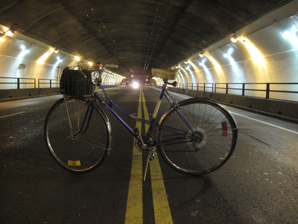 Stockton tunnel at 3am.