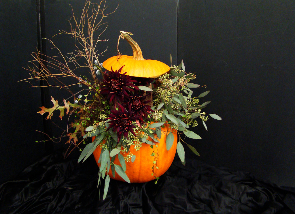 DSC02911 Pumpkin Arrangement back