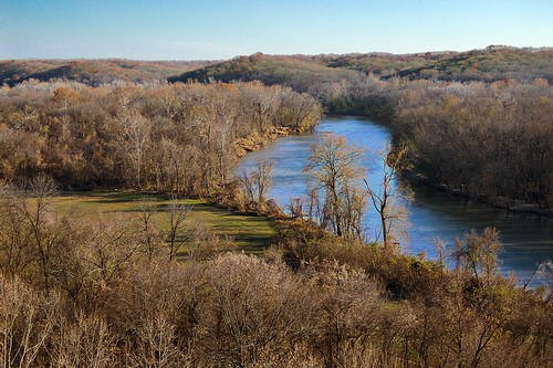 Castlewood State Park, in Saint Louis County, Missouri, USA - Meramec River