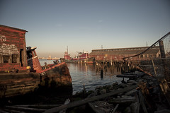nautical scenes for nautical people (krugerlive) Tags: nyc newyorkcity abandoned water graveyard junk tugboat nautical statenisland dilapidated ghostship