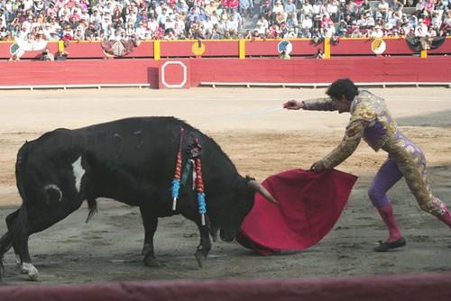 Estocada de Juan del Álamo en Lima