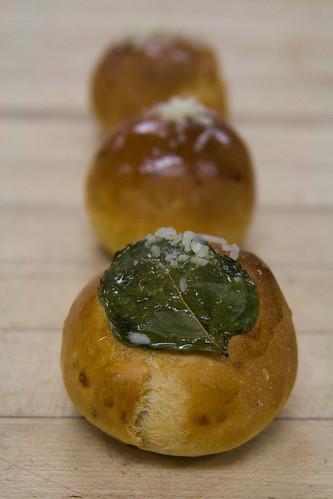 Sundried Tomato Garlic Herb Rolls