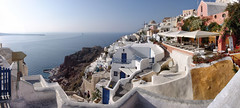 Winter is back!. Time to go towards better skies. Oia, Santorini Island, Greece (Batistini Gaston) Tags: panoramic explore santorini greece panoramica santorin oia grece panoramique batistini gbatistini