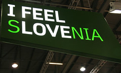 Slovenia I Feel Love (Katchooo) Tags: sign countries slovenia slogans excel destinations taglines wtm worldtravelmarket wtm2009 wtm09