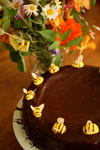 Chocolate Honey Cake 4