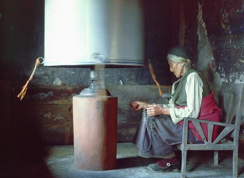 Prayer Wheel - Darjeeling, India