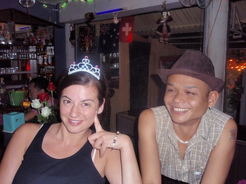 princess in a gay bar in Chiang Mai