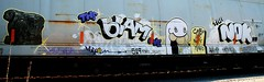 The Blam One - The Nok (mightyquinninwky) Tags: railroad train geotagged graffiti cah character tag graf tracks railway tags tagged railcar rails graff graphiti trainyard cartooncharacter trainart 519 paintedtrain freightyard railart graincar reflectivetape taggedtrain evansvilleindiana geo:lon=87616466 paintedrailcar taggedrailcar theblamone thenok cashisnotking geo:lat=37955158 11223344556677 carfireonflickr charactersformyspacestation