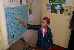 Afghanistan (Direct_Relief) Tags: school boy afghanistan boys students student education asia child classroom dr middleeast learning alphabet ail pep 2007 directrelief preschooleducation afghaninstituteoflearning abbottfund preschooleducationprogram httpwwwdirectrelieforg