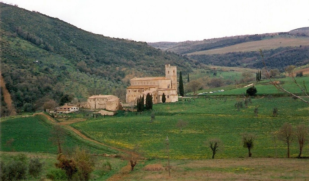 Abbey of Sant'Antimo, Tuscany