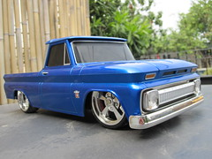1/16 scale R/C Maisto 1964 Chevy C-10 (Jose Michael S. Herbosa) Tags: chevrolet truck gm philippines collection chevy manila lowrider rc dub lowered toycar radiocontrol classictruck slammed maisto chevyc10 116scale lowridertoys canonsd780isdigitalelph lowriderrc