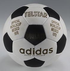 Balón Mundial futbol 1970 Telstar Mexico