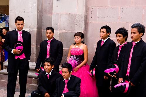 Fiesta de quinceañera. Querétaro (México). De la Wikipedia: En la tradición