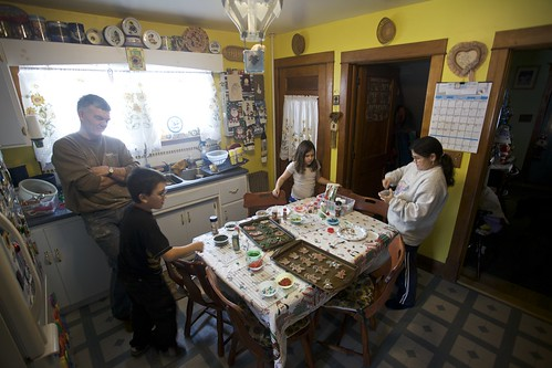 Christmas Cookie Making 2009