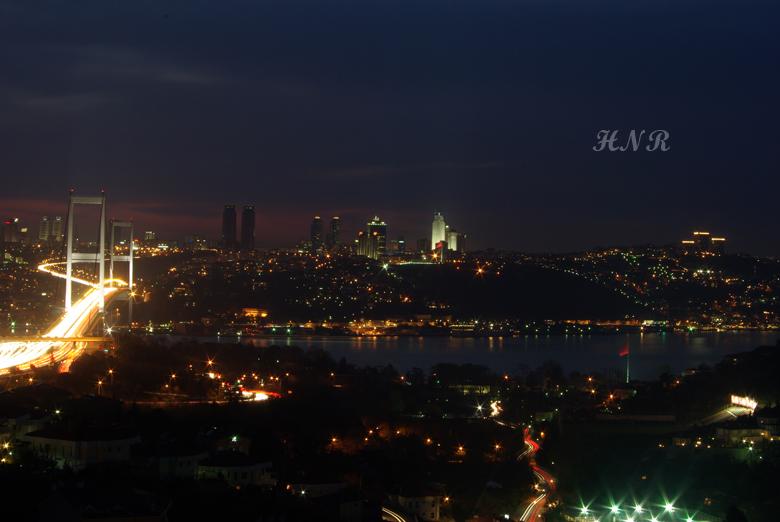Boğaz Manzarası - Gece