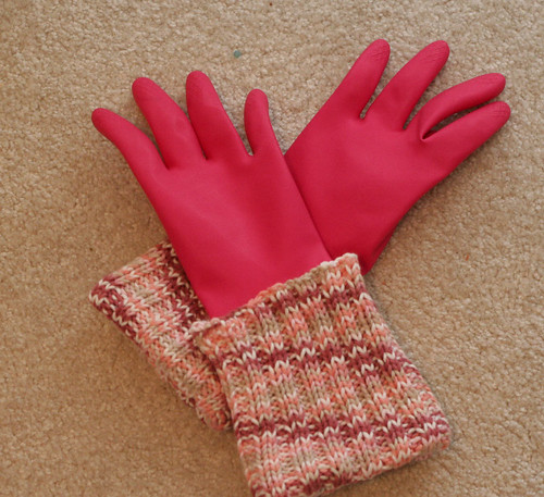Pink GoLightly Gloves for me.
