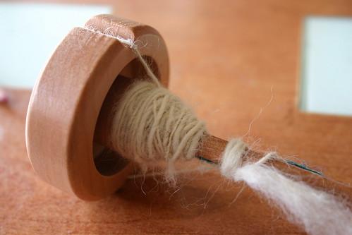 Huso y lana