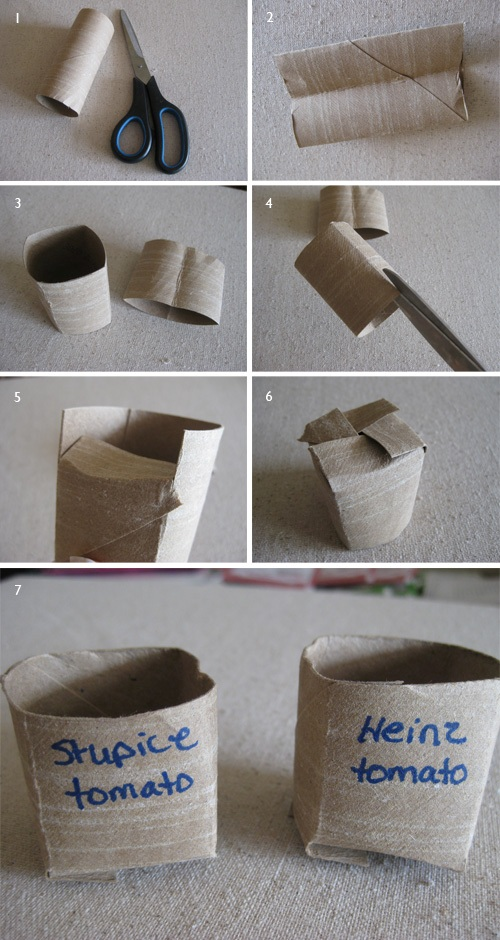 TP Roll Seed Pot Tutorial