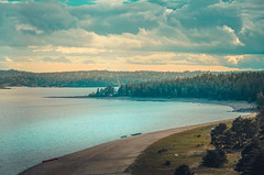Ladoga lake landscape (anatoliimalikov) Tags: landscape lake water outdoor nature russia ladoga clouds sky impressive
