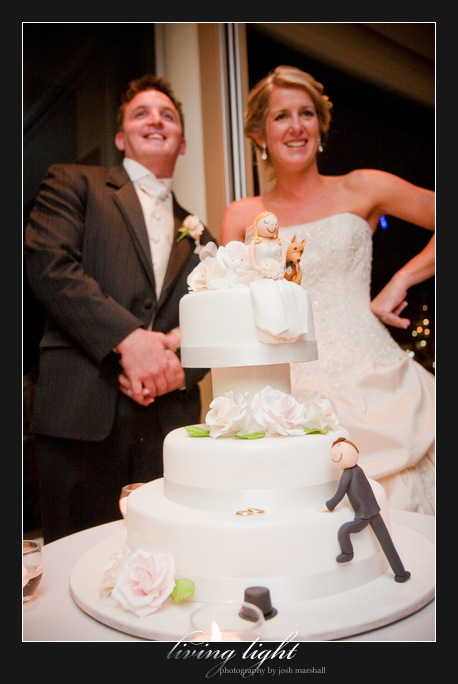 Cake cutting. Newcastle wedding photography.