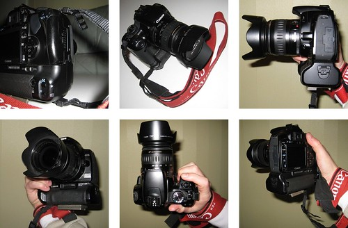Hand Strap on Canon EOS 400D