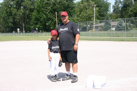 Blake and Coach Daddy